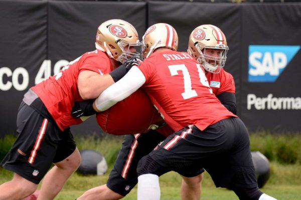 Offensive line struggles continue to hold 49ers back ...