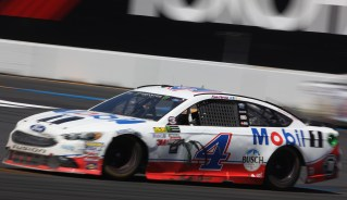 Monster Energy NASCAR Cup Series driver Kevin Harvick (4) gets on the gas through turn 11 at the Toyota/Save Mart 350 at Sonoma Raceway in Sonoma, Calif., on Sunday, June 24, 2017.
