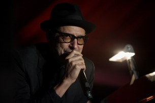 Jeff Goldblum and the Mildred Snitzer Orchestra perform at the Outside Lands Music Festival at Golden Gate Park in San Francisco, Calif., on Saturday, August 12, 2017.