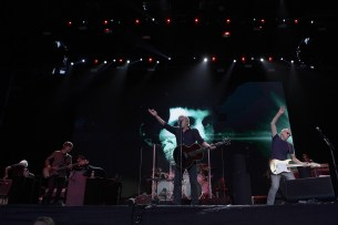 The Who performs at the Outside Lands Music Festival at Golden Gate Park in San Francisco, Calif., on Sunday, August 13, 2017.