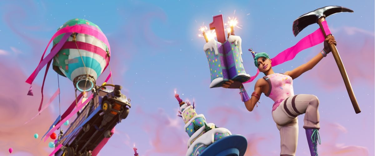 Fortnites First Birthday Is Coming Celebrate With Unique Challenges Llama And More Shacknews