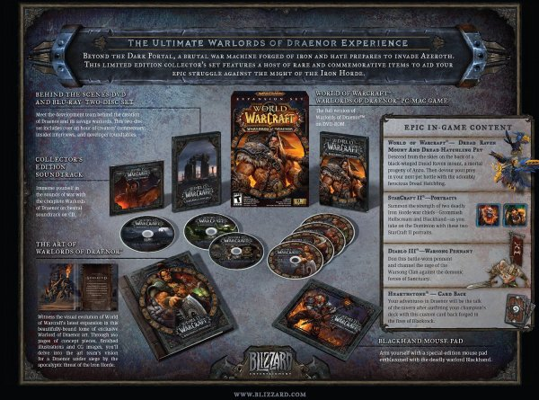 Shack Giveaway: World of Warcraft: Warlords of Draenor ...