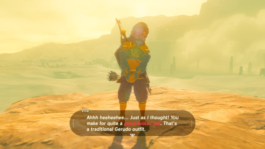 Zelda Breath Of The Wild How To Get A Gerudo Outfit