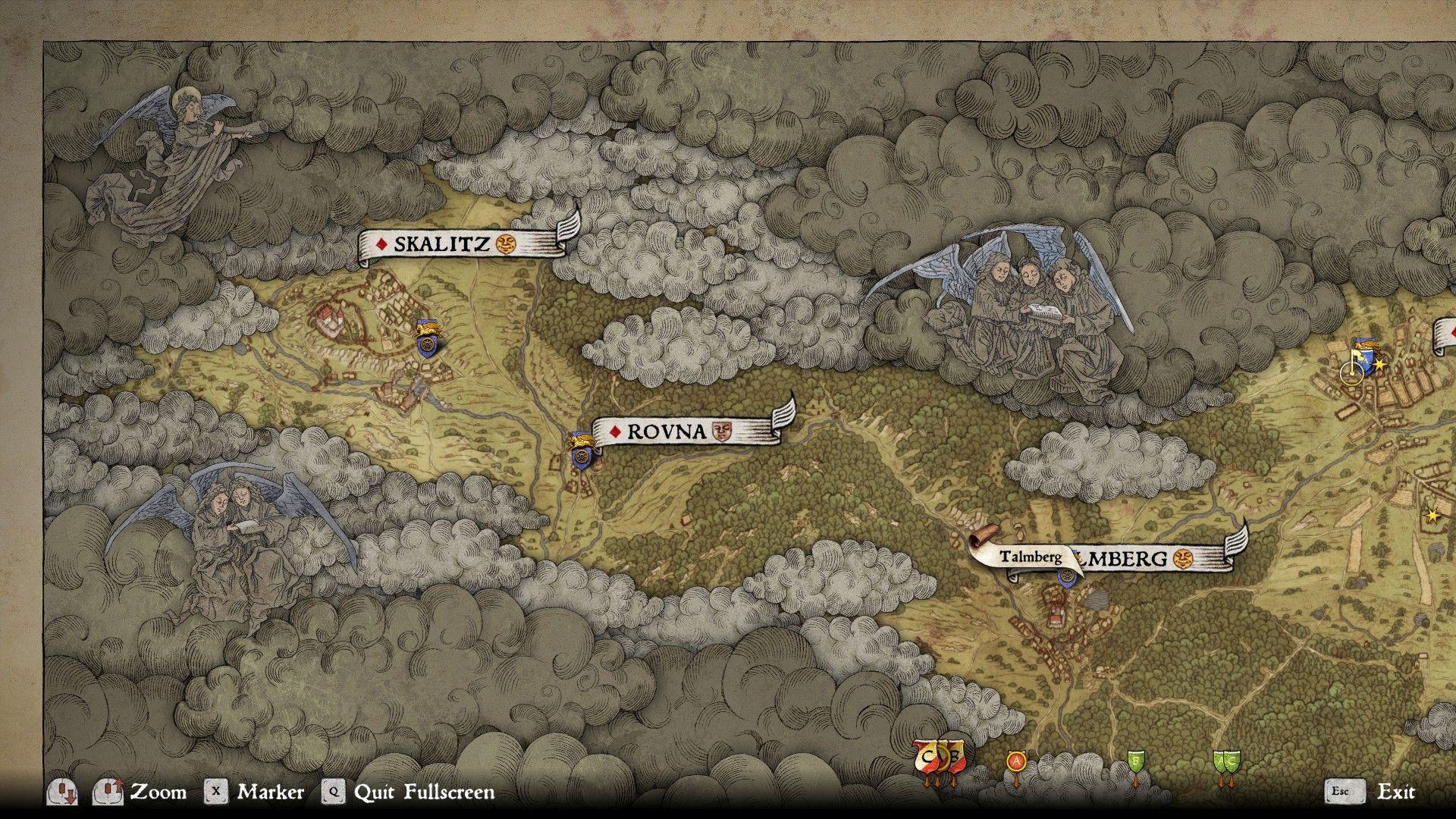 How Big Is Kingdom Come Deliverances Map Shacknews