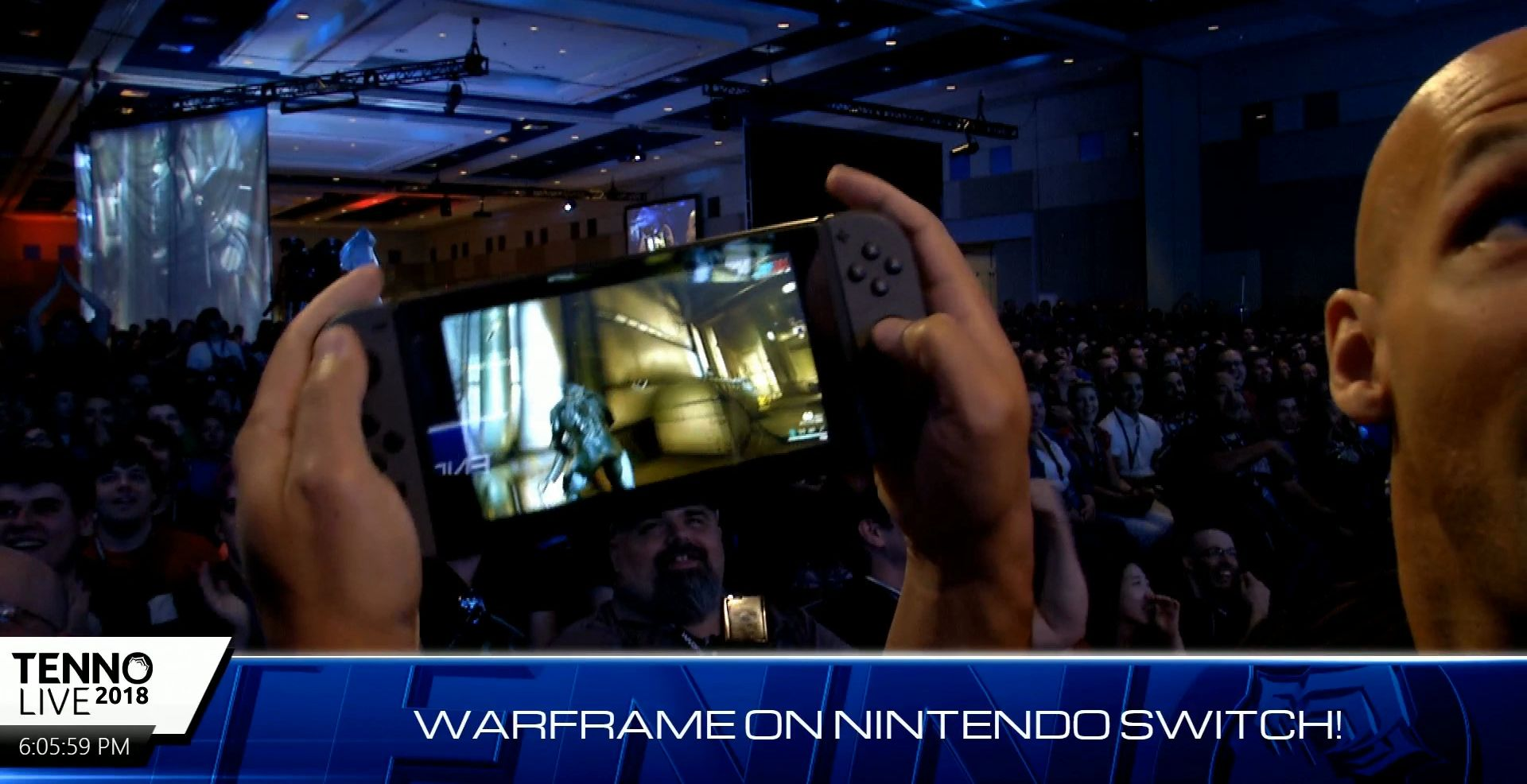 TennoCon 2018 Warframe Coming To Nintendo Switch With