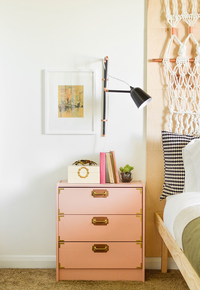 pink side table copy