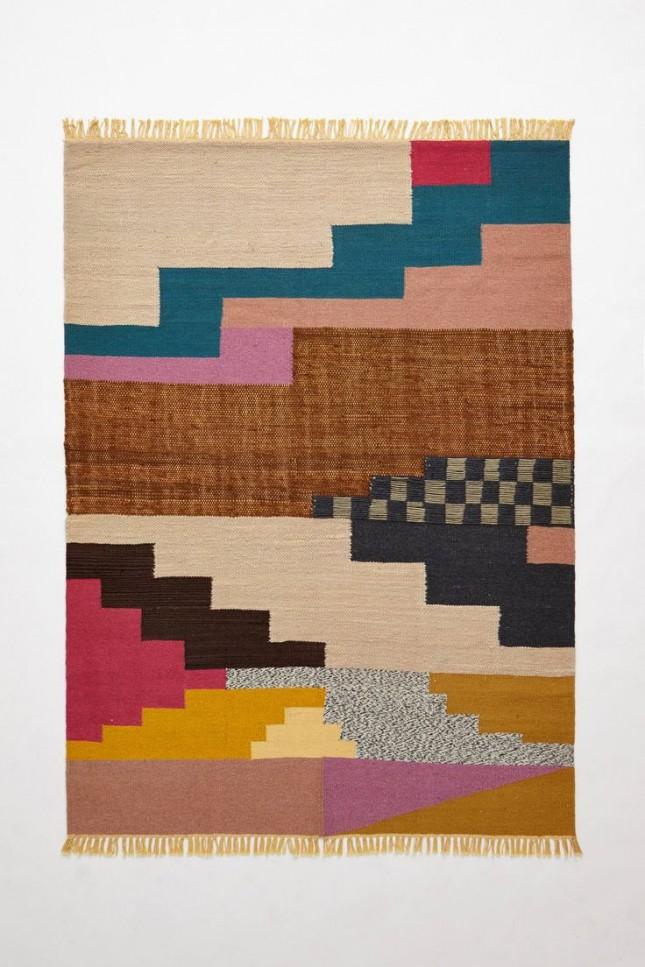 colorblock rug