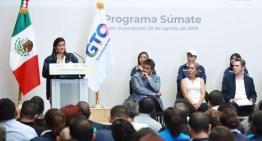 """El Programa """"Súmate"""" promueve la formalidad en Guanajuato."""