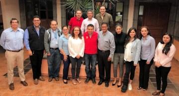 La SEG se reúne  con Ediles de la Región Sureste