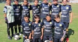 El equipo Sub-12 de Dorados es super líder de la zona centro de futbol