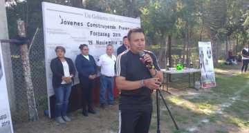 """Realizan Torneo Relámpago de Futbol """"Jóvenes Construyendo Prevención"""""""
