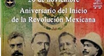Todo listo para el  109 aniversario del inicio de la Revolución Mexicana