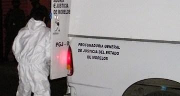 'Tiran' a dos ejecutados  en la esquina de Morelos y Primero de Mayo