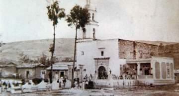"""Fotografía Antigua: Barrio de """"La Soledad"""" de Acámbaro"""