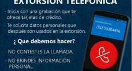 La policía pide colgar ante cualquier llamada de extorsión