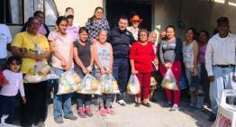 El Diputado Luis Magdaleno entregó cobijas y alimentos en comunidades