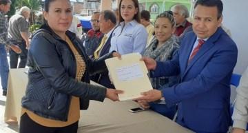 Al Archivo Municipal, entregan documentos de la fundación de Parácuaro