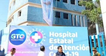 Abre el primer Hospital Estatal de Atención COVID-19