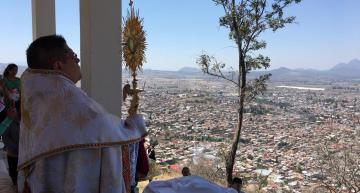 Bendicen a la población y a la ciudad de Acámbaro