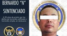 Sentencian a 35 años a homicida de Jerécuaro