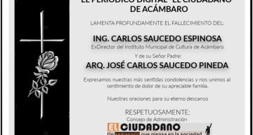 """Esquela Periódico Digital """"El Ciudadano"""""""