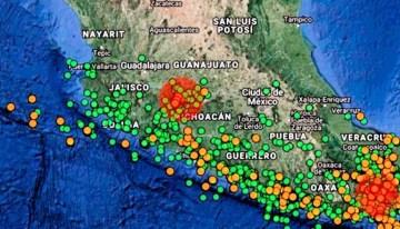 Descartan el  surgimiento de un nuevo volcán en Michoacán
