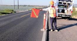 Aplican 13.7 mdp para dar  mantenimiento a carreteras de 7 municipios