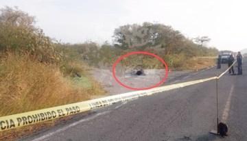 Localizan a sujeto acribillado entre Las Jícamas y San Diego de Alcalá