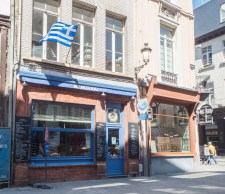 We found a Greek restaurant in Antwerp!