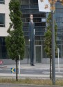 The Tall Banker is a sculpture made by a group of German artists in 2002 that represented successful corporate culture.