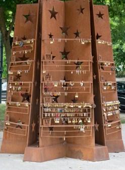 Locks from all around Europe