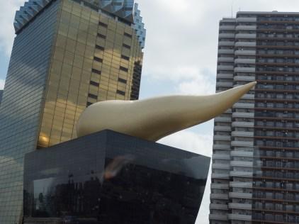 The golden poo - https://en.wikipedia.org/wiki/Asahi_Beer_Hall
