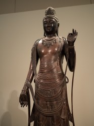 Standing Sho-kannon Bosatsu 7th-8th century (copy made in the 20th century)