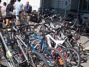 Scientist and engineers ride bikes.
