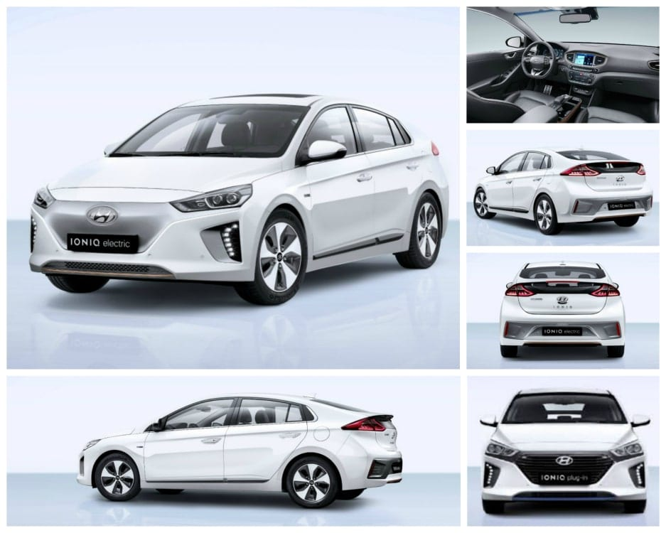 hyundai ioniq phev and full electric versions specs. Black Bedroom Furniture Sets. Home Design Ideas