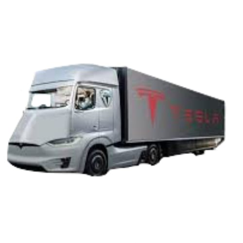 2018 tesla semi truck. wonderful truck teslasemicutout throughout 2018 tesla semi truck