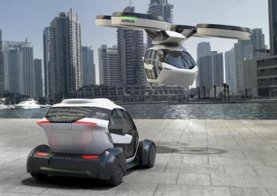 Airbus Pop.Up flying electric car concept vehicle