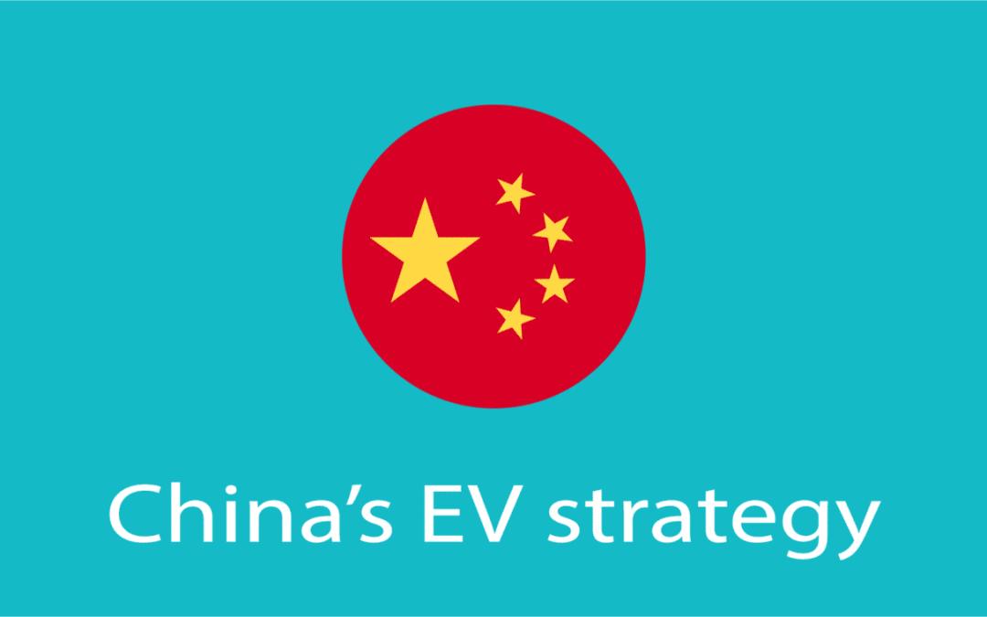 Be warned Big Auto, the China EV strategy is to dominate!