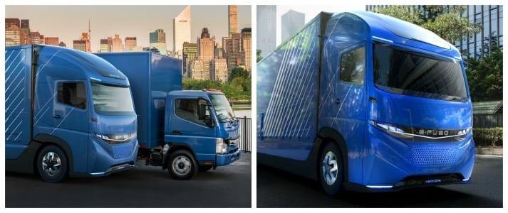 E-fuso truck brand