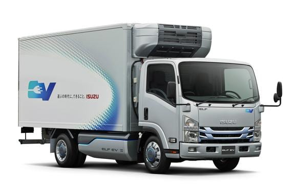 Isuzu-Elf electric truck