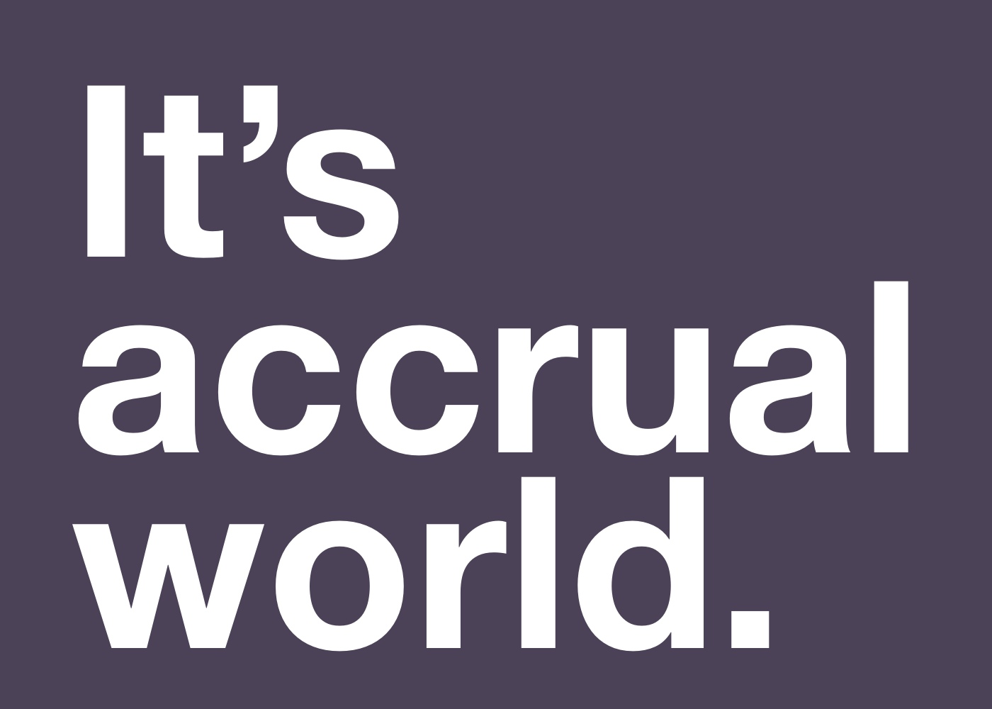 Introducing Accrual Accounting Sync From Abacus Abacus