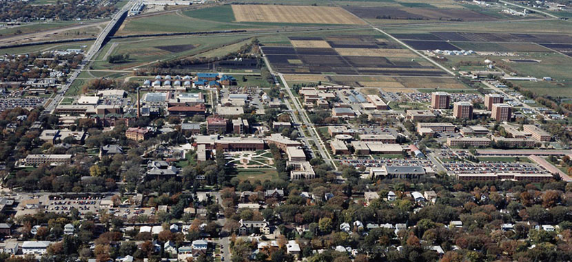 North Dakota State University Main Campus Overview