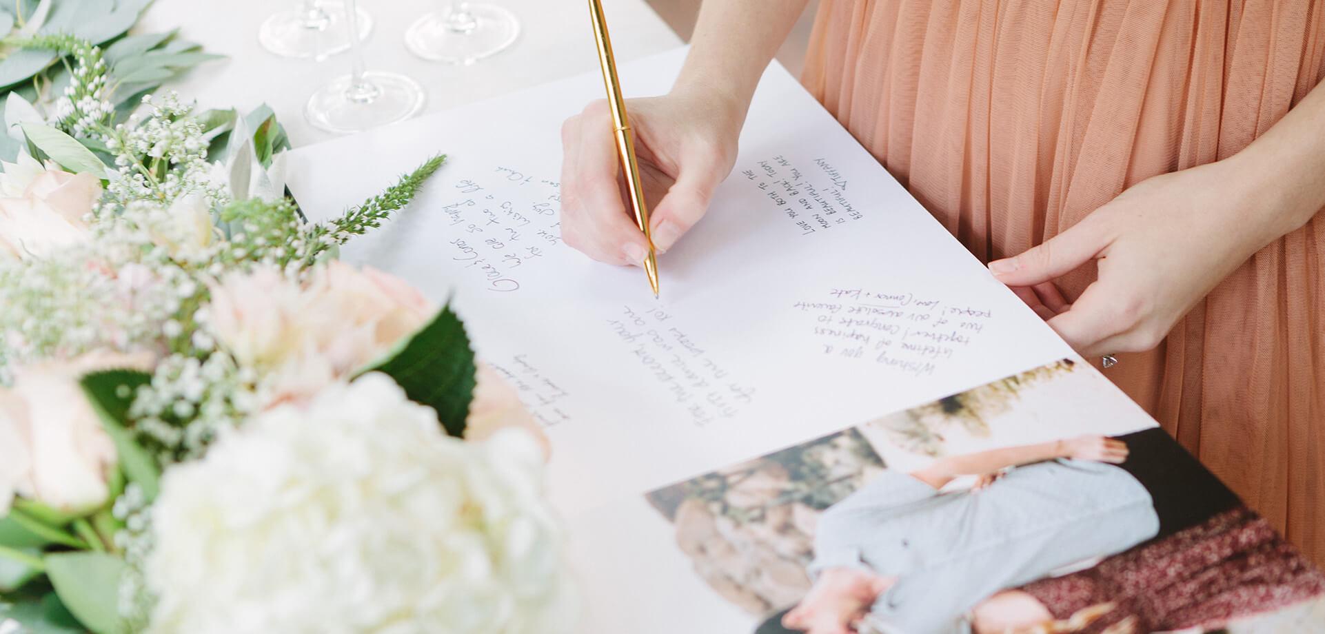 5 Custom Wedding Guest Book Ideas