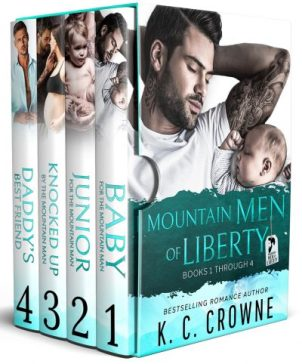Mountain Men of Liberty by K.C. Crowne box set book cover