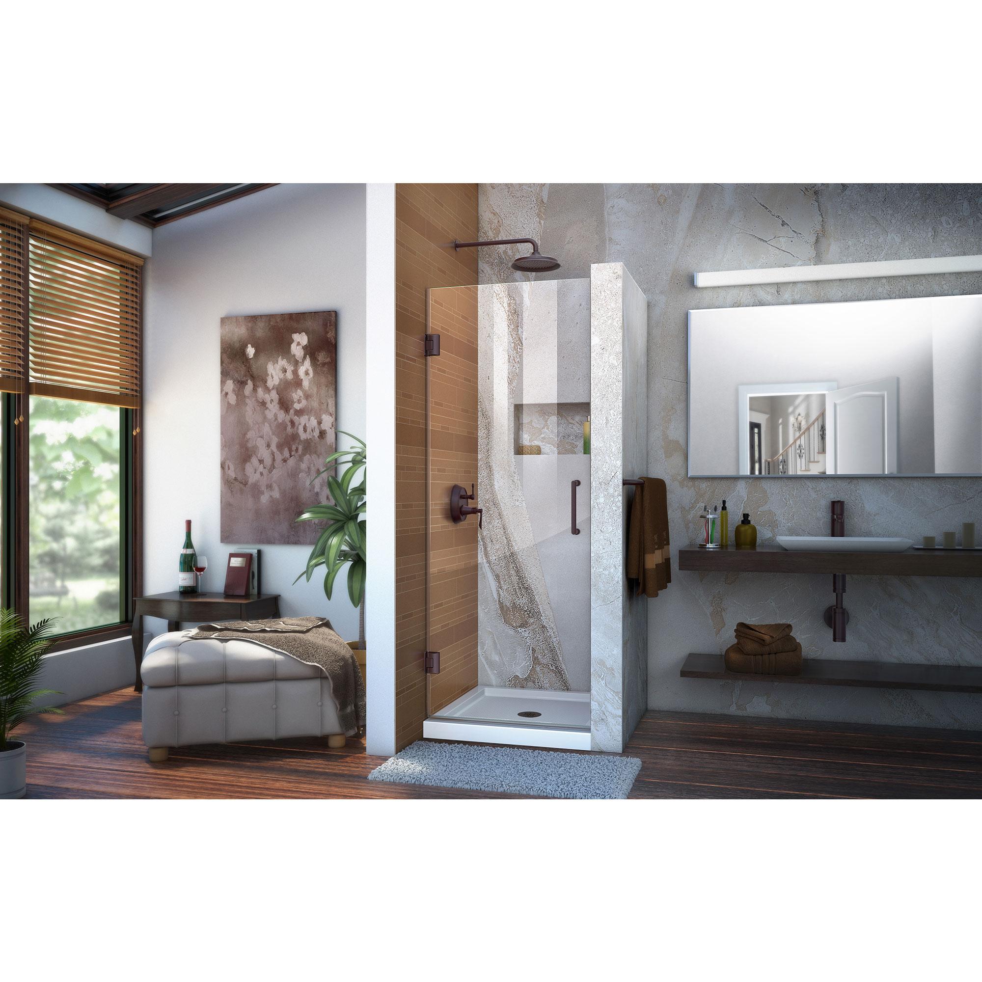 Dreamline Shdr 20247210f 06 Unidoor 24 Frameless Shower