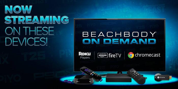 Connect to Beachbody On Demand Using Roku Players, Amazon Fire TV, or Google Chromecast