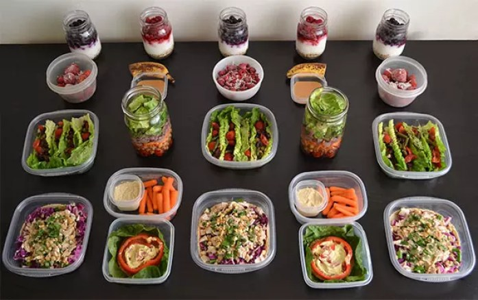 No-Cook Meal Prep for the 1,200–1,500 Calorie Level | BeachbodyBlog.com