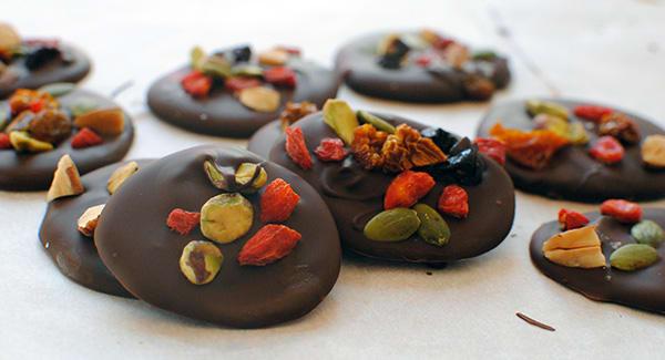 Dark Chocolate Superfood Bites   BeachbodyBlog.com