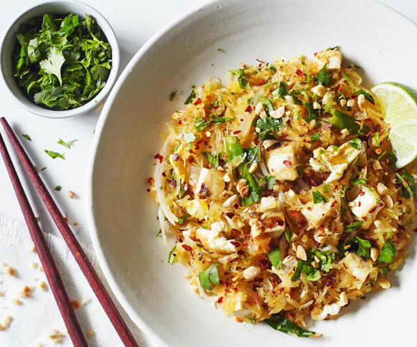 pad thai recipe with spaghetti squash