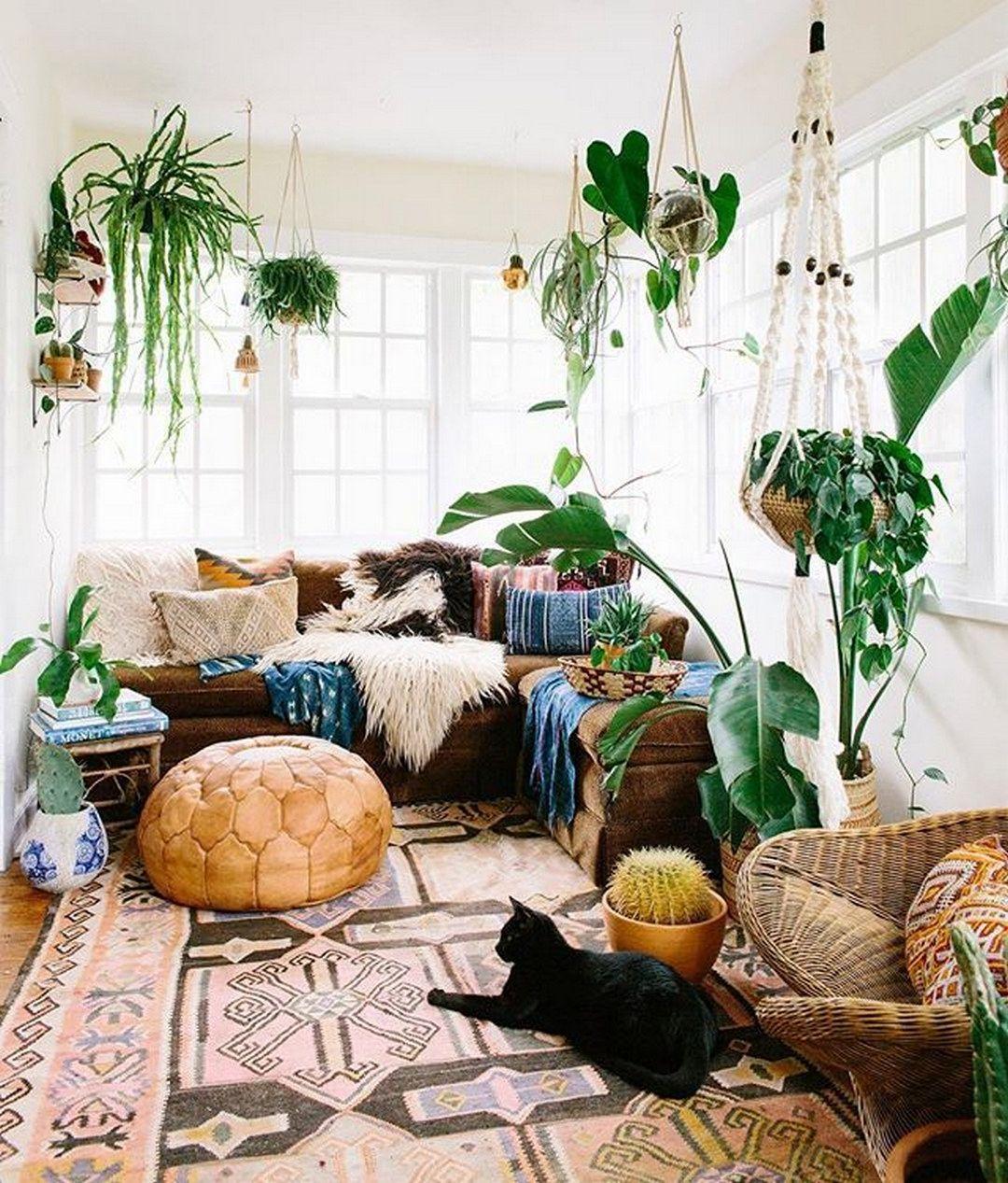 45 Amazing Modern Bohemian Style Bedroom Decor Ideas You ... on Modern Bohemian Bedroom Decor  id=49726